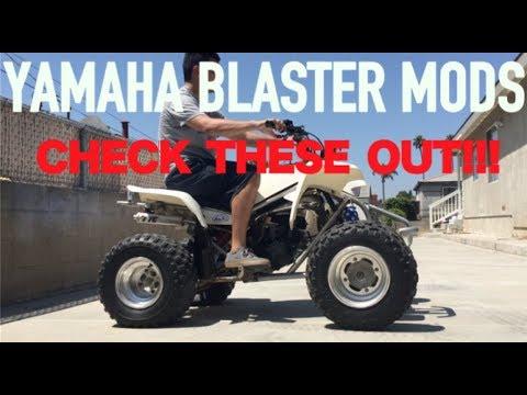 YAMAHA BLASTER MODS! MUST HAVES