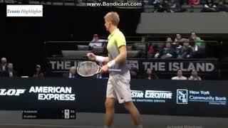【テニス】 錦織圭vsK.アンダーソン  ニューヨークOP  準決勝 錦織圭 検索動画 19