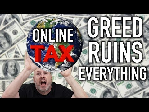 New Online Tax Law sucks for buying online!