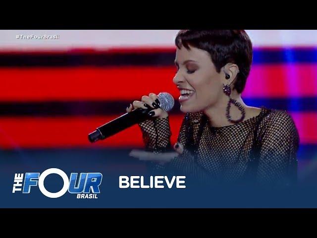 Tay Rodrigues canta sucesso de Cher em batalha contra Kacá Novais