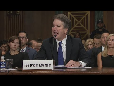 Klobuchar Questions Kavanaugh At Supreme Court Hearing