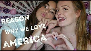 Why two europeans love America!!