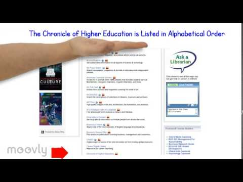 MCU Access to The Chronicle of Higher Education