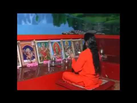 Shri shaktiputra ji guruvar Maa ki aarti karte hue
