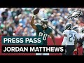 WR Jordan Matthews Discusses The Importance Of Winning At Home & More | Eagles Press Pass