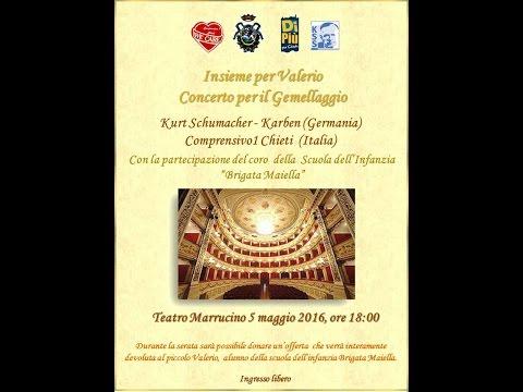 Concerto gemellaggio musicale Chieti-Karben teatro Marrucino 5 5 16