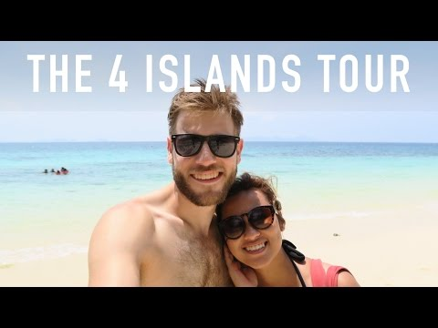 THE 4 ISLANDS TOUR (KOH LANTA) | TRAVEL VLOG
