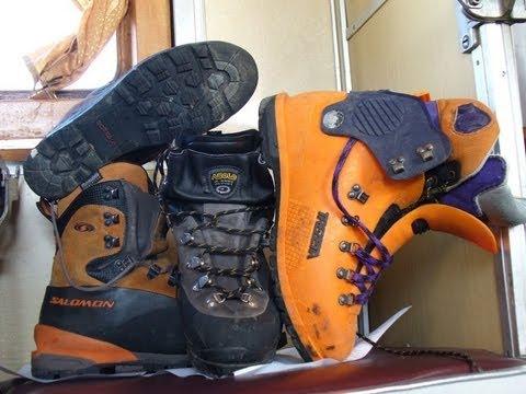 Как выбрать ботинки для горного похода и альпинизма?
