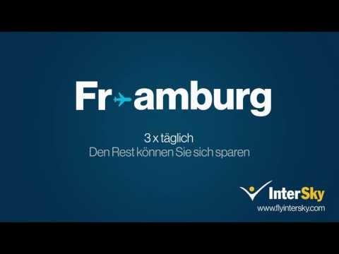 InterSky Kino-Werbung: Strecken Ab Friedrichshafen / FrielinbisFramburg