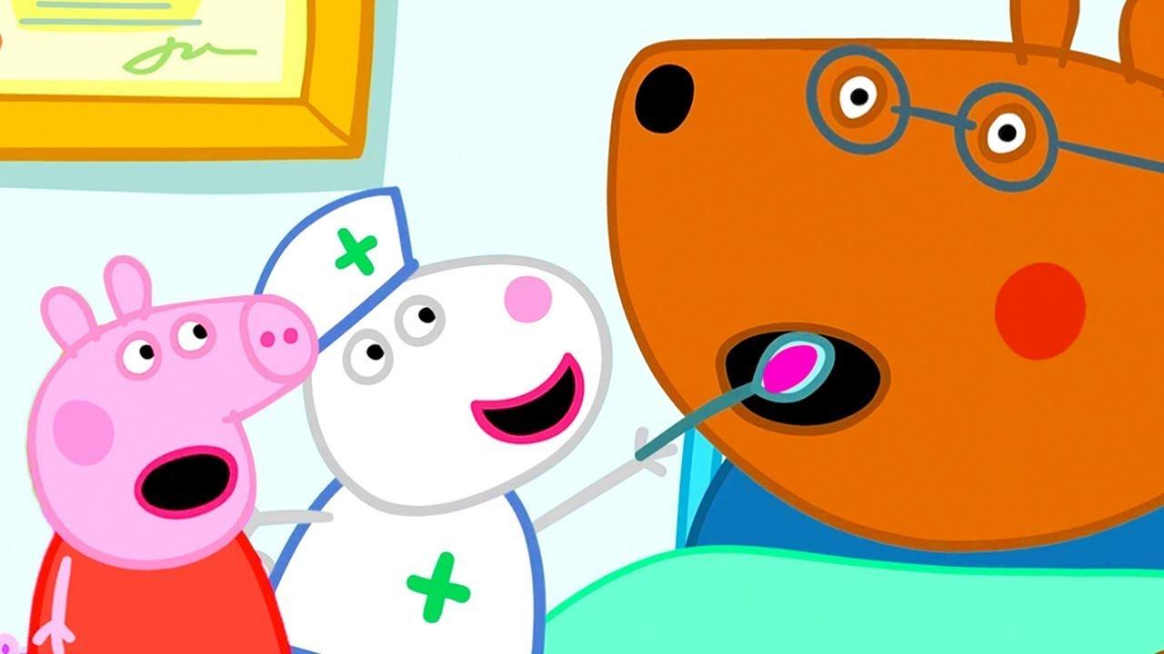 Peppa Pig 😷 Doktorlarımıza ve Hemşirelerimize Teşekkür Ederiz 🏥 Derleme 🦠  Karışık çizgi filmler