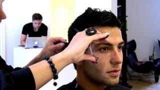 Cristiano Ronaldo haircut Part 2/2 Model Türker - hairstyle and cut by Pernille Hanz de Fuko