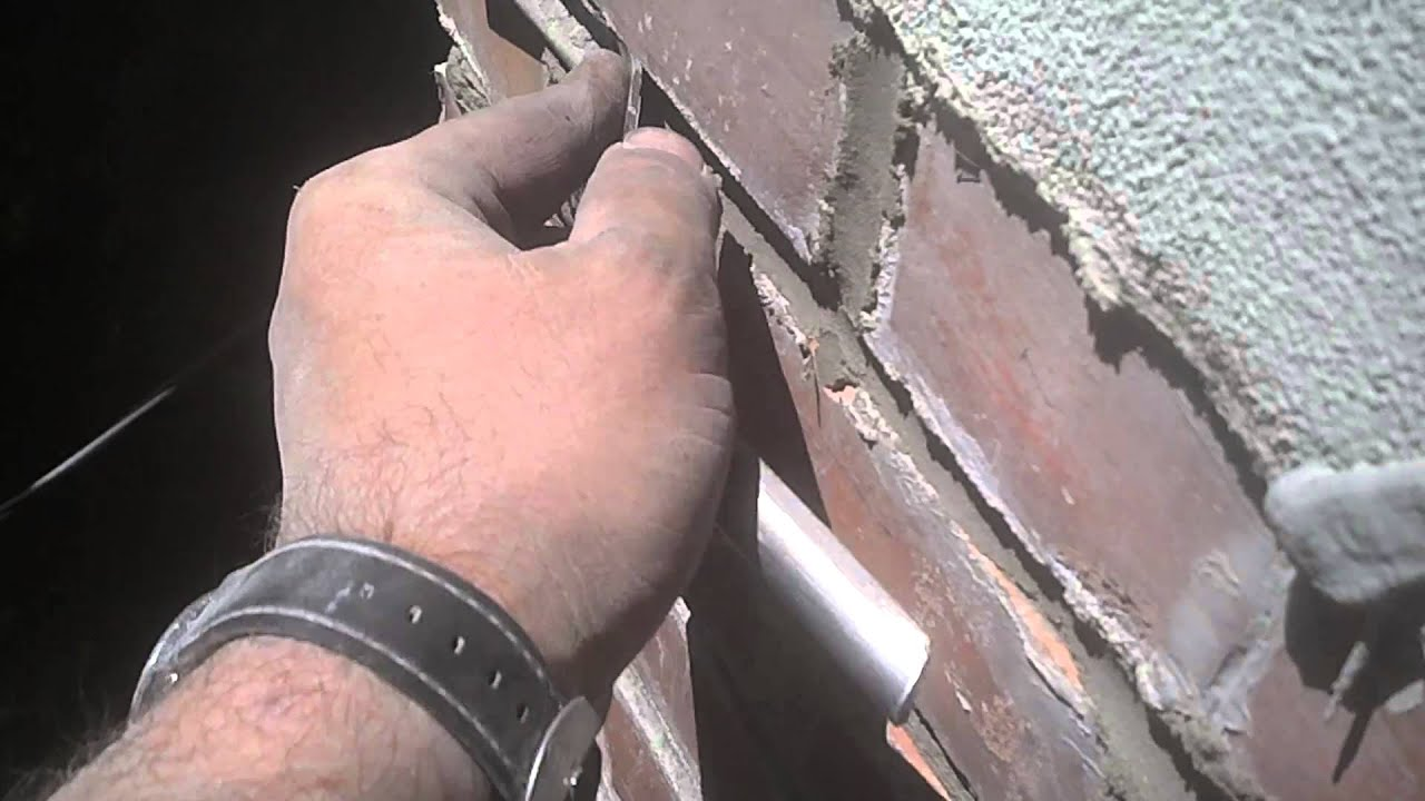 leaking chimney repair repointing mortar joints youtube
