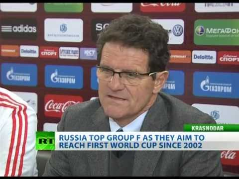 Coach Capello ends year unbeaten as Russia held by USA
