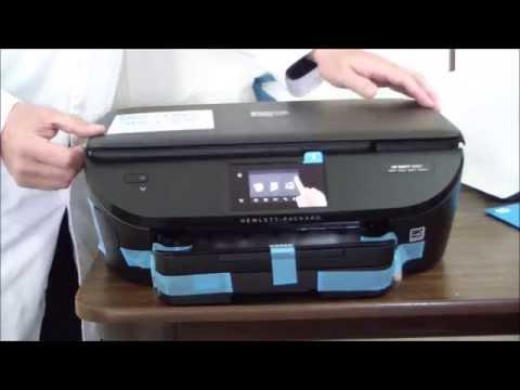 HP Envy 5660 e-AiO Unboxing & Setup