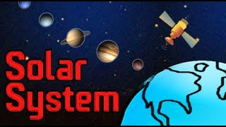 Space | The Solar System | The Nine Planets of Solar System Animated