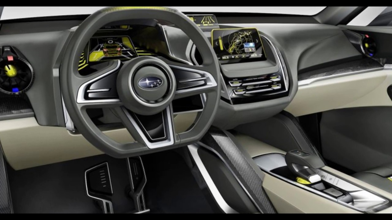 All New 2019 Subaru Viziv Suv Concept Youtube
