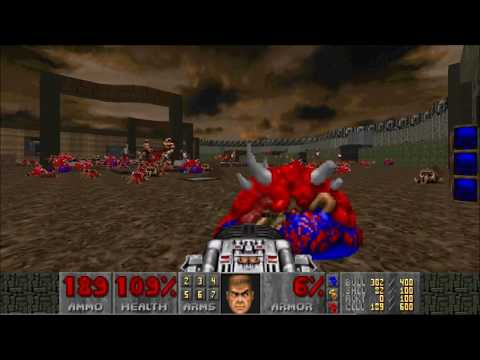 "[DOOM 2] Birthday DOOM 2013 - MAP04 ""Slaughterday"" FDA"