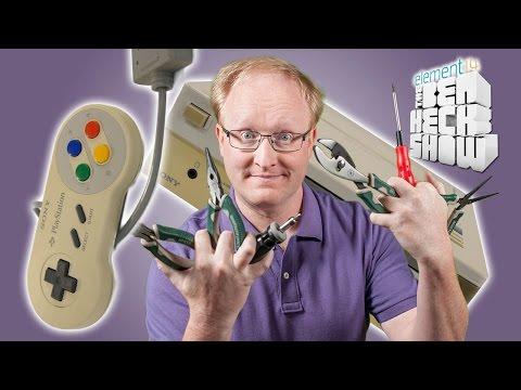 Ben Heck's Nintendo-Playstation Prototype Part 2 Repair