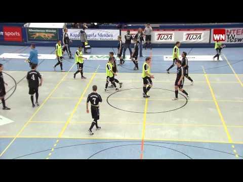 SW Münster - Telekom Post SV Stadtmeisterschaften Hallenfußball Münster 2012 WN-TV