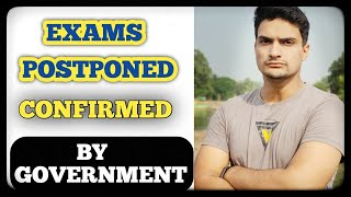 """""""Exams Postponed!!!"""" Update by HRD Ministry 