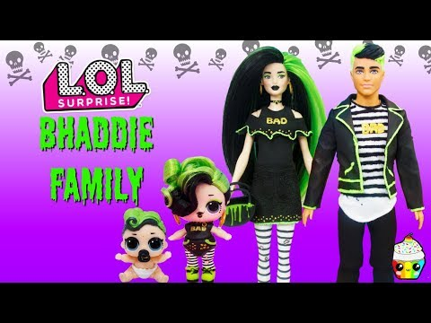Bhaddie Family DIY Custom Fun Craft With Barbie and Ken Cupcake Kids Club