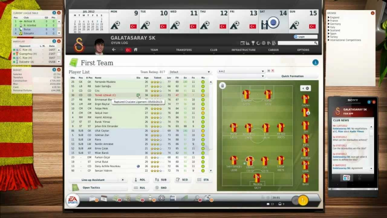 Fifa manager 13 фото
