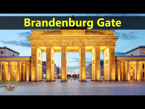 Best Tourist Attractions Places To Travel In Germany | Brandenburg Gate Destination Spot