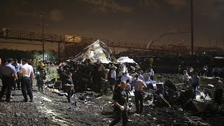 Amtrak Train Crashes in Philadelphia Five dead and 65 injured