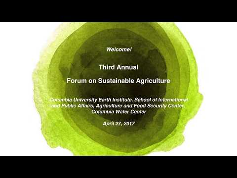 2017 Forum on Sustainable Agriculture