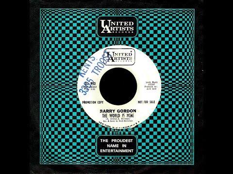 Barry Gordon - THE WORLD IS MINE - (1965)