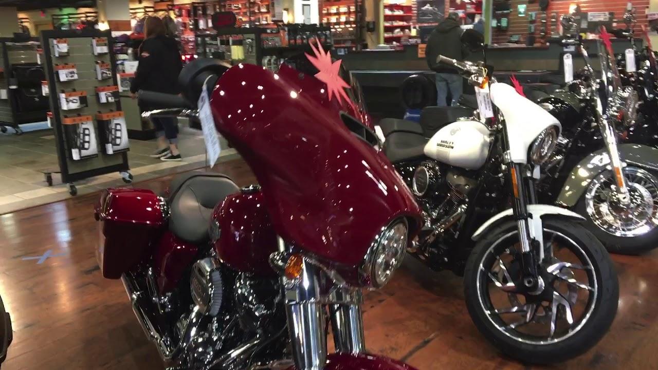 New 2021 Harleys at Harley-Davidson of Asheville