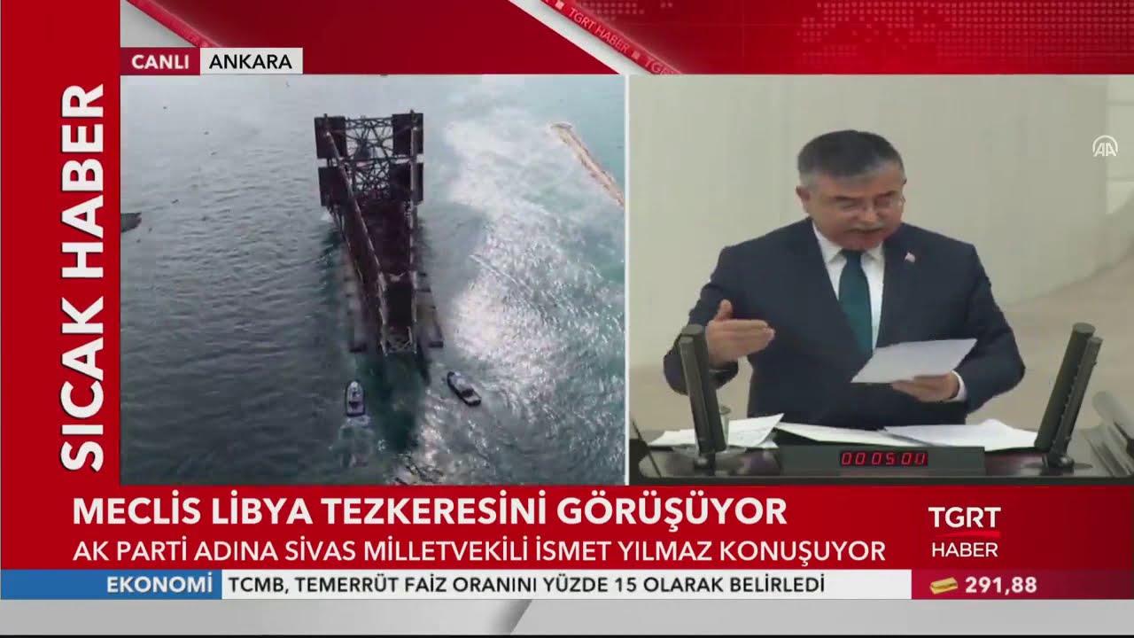 Türk Askeri İçin Libya Tezkeresi Meclis Genel Kurulu'nda Görüşülüyor