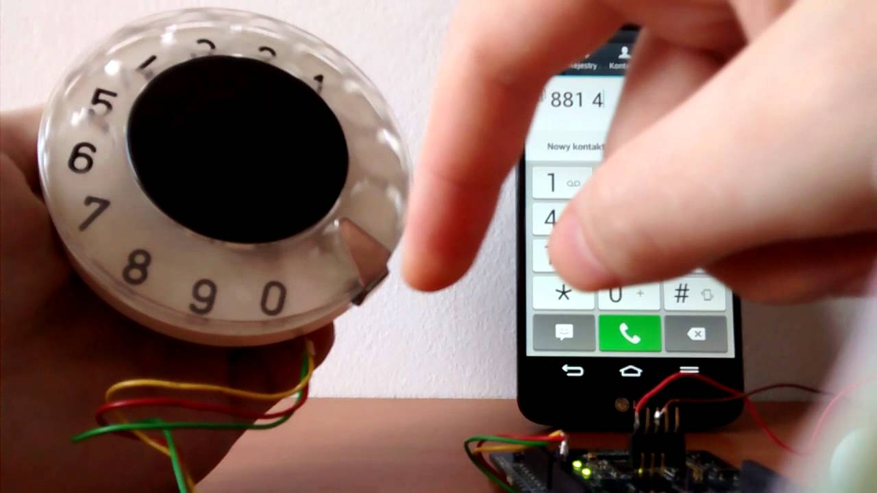 Dial Like a Hipster: Make a Bluetooth Rotary Dial | Make: