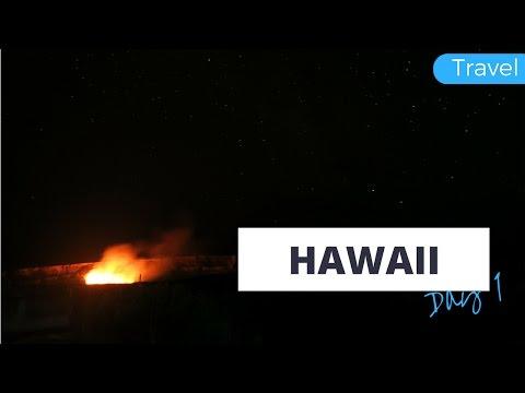 Hawaii Day 1 | That Volcano Tho! | Travel Vlog