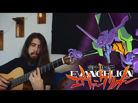 cruel angel thesis fingerstyle tab