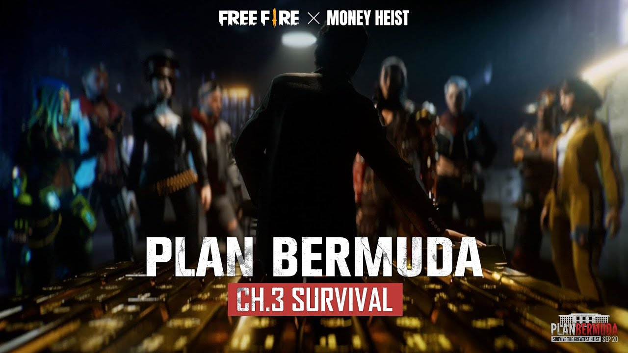 Plan Bermuda Chapter 3- The Rescue [ENG] | Free Fire x Money Heist | India Official Free Fire