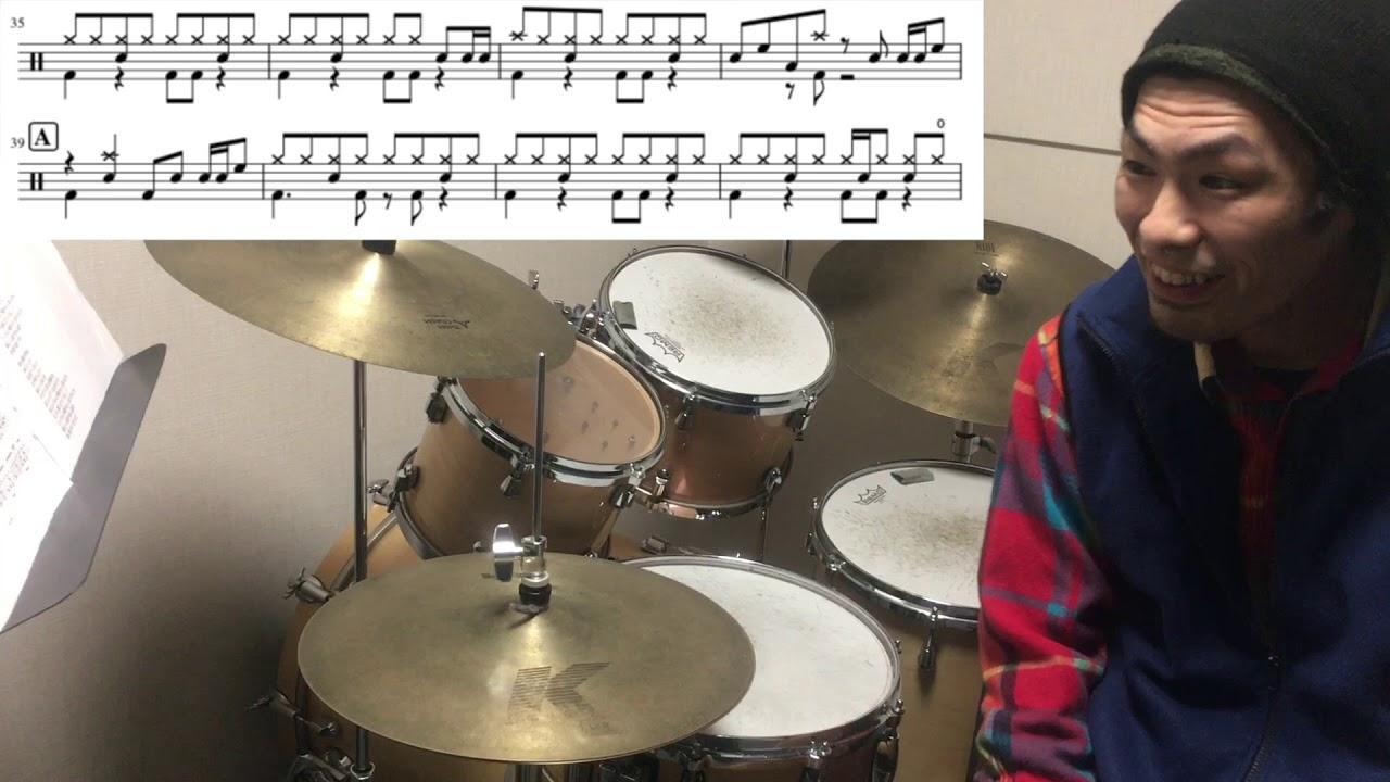 【ドラム楽曲解説】君はロックを聴かない あいみょん - YouTube