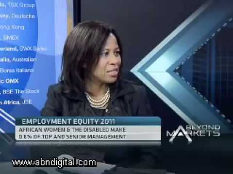 South Africa's Employment Equity Report with Khanysile Kweyama