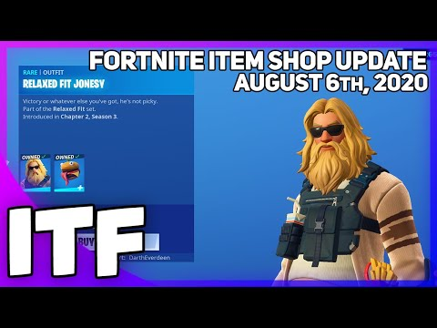Fortnite Item Shop 3 *NEW* SKINS! [August 6th, 2020] (Fortnite Battle Royale)
