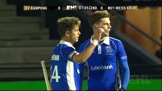 Highlights SV Kampong v Rott Weiss Köln  (EHL KO16)