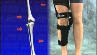 Работа коленного ортеза Бледсоу Трастер (длинная версия видео)(На видео показана работа коленного ортеза (Бледсоу Трастер) Bledsoe Thruster, который возможно приобрести на сайте..., 2015-02-16T08:46:26.000Z)