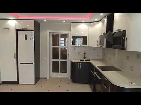 Перенос кухни в комнату в новостройке.