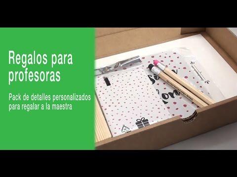 Pack de regalos originales para profesoras youtube - Regalos originales para la casa ...