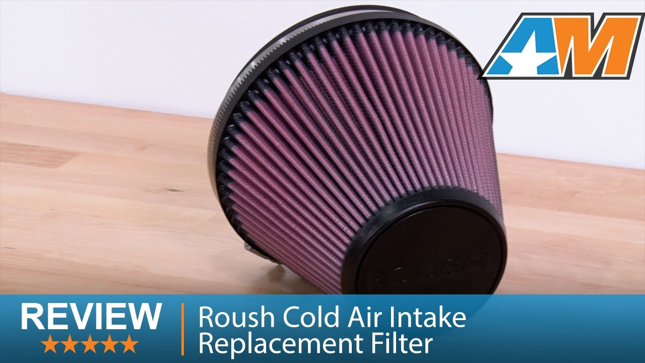 2011-2014 F-150 Roush Cold Air Intake Replacement Filter ...