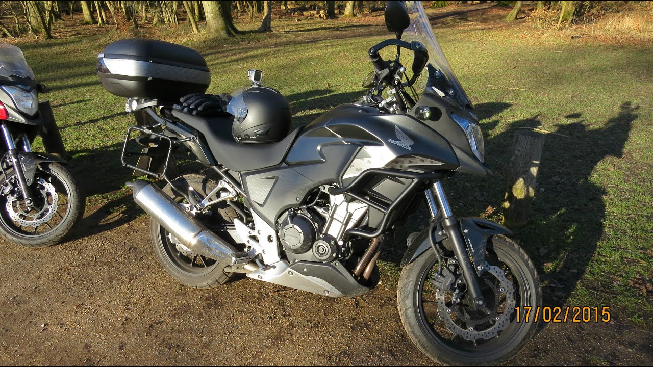 2014 Honda CB500X ABS Long Term Ownership Review & Ride Out - YouTube