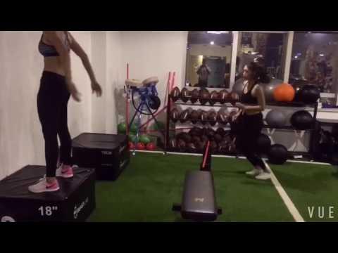Shanghai Girls partner workout