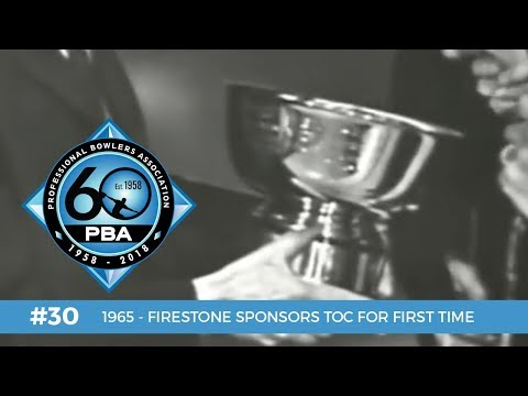 PBA 60th Anniversary Most Memorable Moments #30 - Firestone Sponsors TOC for First Time