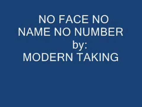Modern talking no face name number lyrics