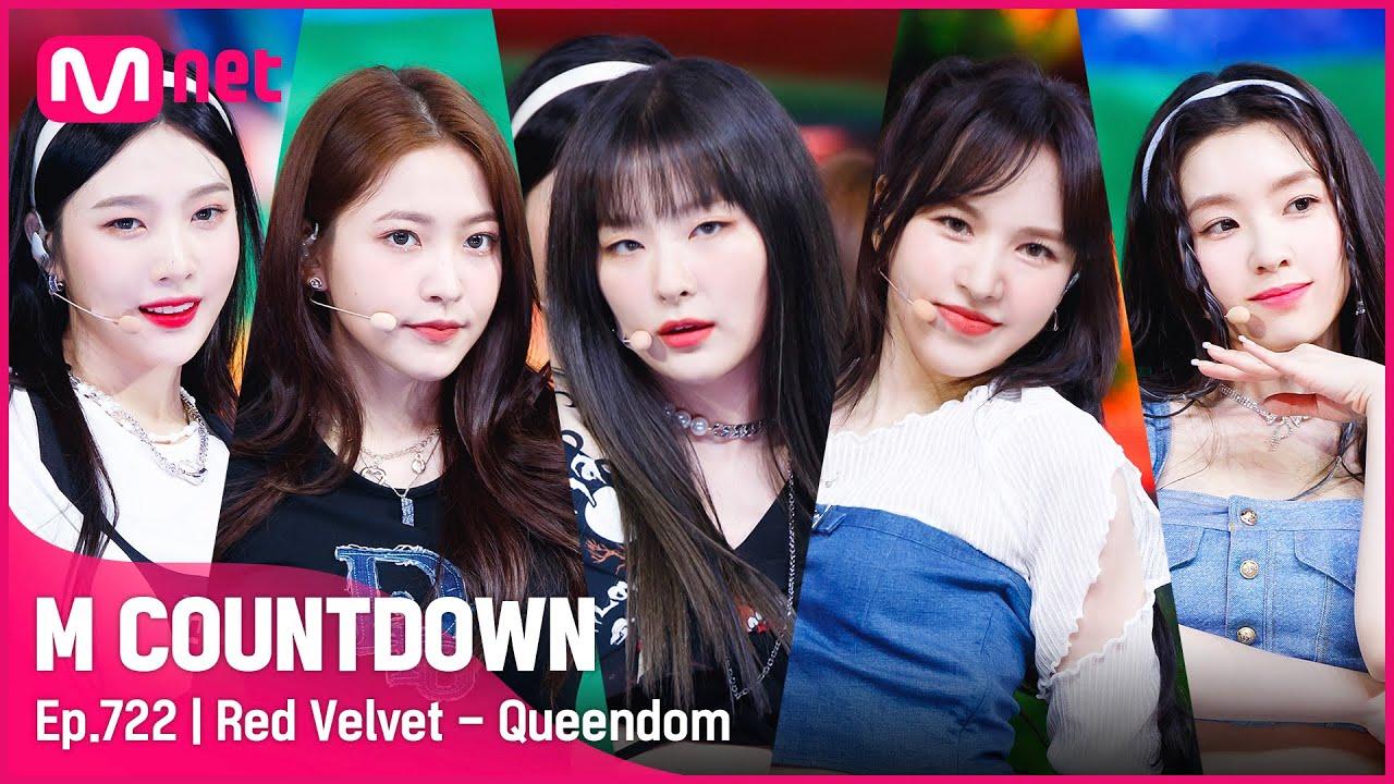 Download [Red Velvet - Queendom] Comeback Stage   #엠카운트다운 EP.722   Mnet 210826 방송