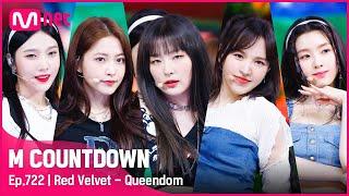 [Red Velvet - Queendom] Comeback Stage | #엠카운트다운 EP.722 | Mnet 210826 방송